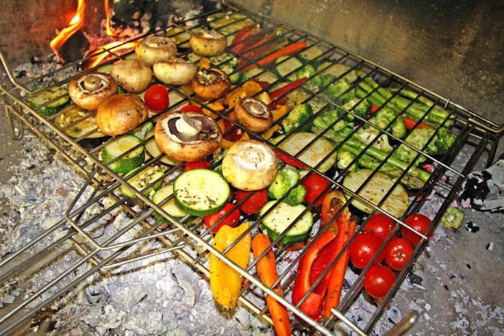 TODAS LAS RECETAS : Parrillada vegetariana o barbacoa y como se prepar...
