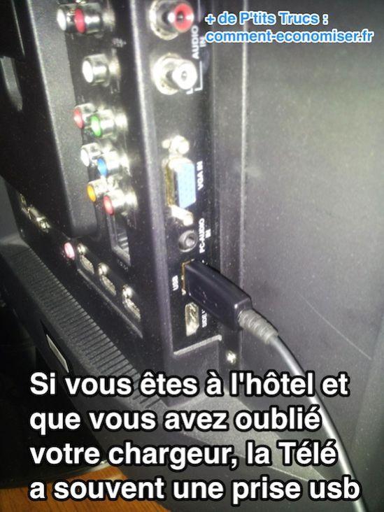 Comment Recharger Son Téléphone à l'Hôtel Quand On a Oublié Son Chargeur.