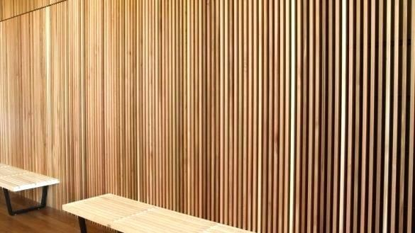Wood Slat Wall System Google Search Wood Slat Wall Interior Wall Design Wood Slats