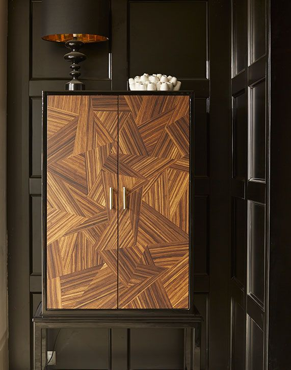 Marquetry cabinet                                                       …