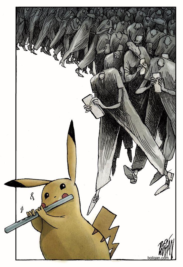 Le nouveau Joueur de flûte de Hamelin #PokémonGo