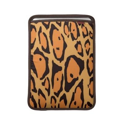 Wild Macbook Sleeve by elenaind