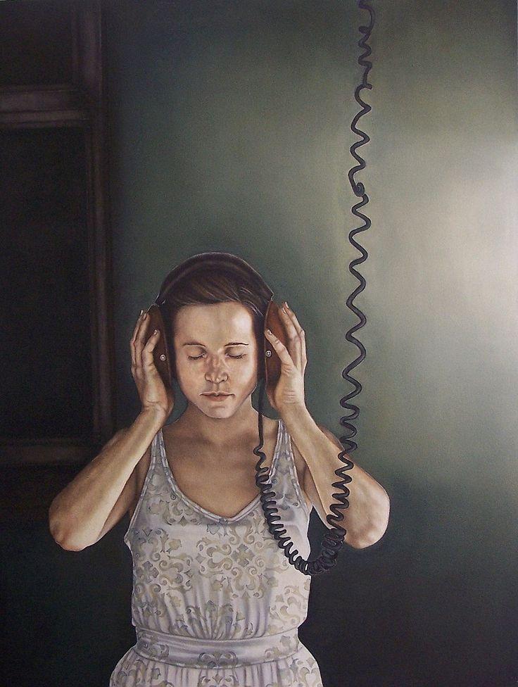 Tuning In - 1030x 1350 by Anina Deetlefs