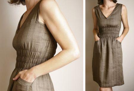 sweet brown dress