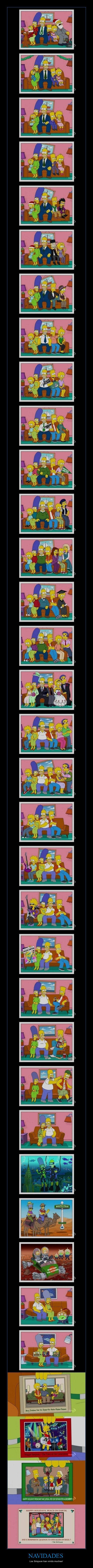 NAVIDADES - Los Simpson han vivido muchas!