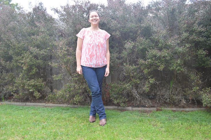 The Waterfall Blouse by Make it Perfect. It's a great beginner project that is suitable for maternity and nursing. Highly recommended!