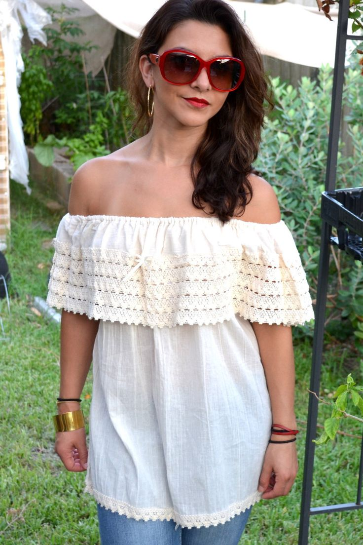 Mexican Blouse // Peasant Mexican Blouse by TheMexicanGringo on Etsy