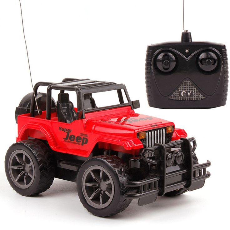 1:24 Big Wheel Off-road Jeep, Remote Control Cars, Car Models, Electric Toys