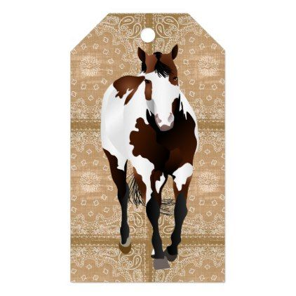 Cowboy UP! Gift Tags - diy cyo personalize design idea new special custom