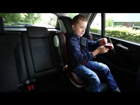The KIDFIX II XP SICT is a GROUP 2/3 car seats suitable for kids from 15 kg - 36 kg (4 years - 12 years). It keeps your child safe with 'Reduced frontal impact - XP-PAD diverting up to 30 % (Source: Britax tests 2013) of energy forces away from neck', 'Optimal lap belt positioning - with our latest technology SecureGuard (patent pending)' and 'Superior side impact protection - deep, softly padded side wings and SICT technology, adjustable to use only on the side closest to the door'.