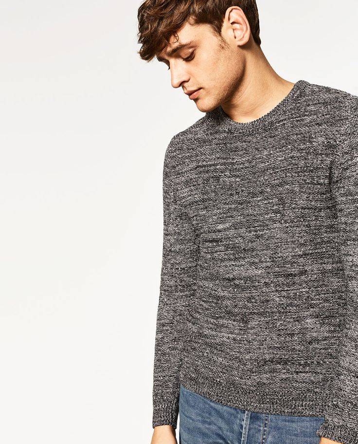 ZARA - MAN - TWISTED YARN SWEATER