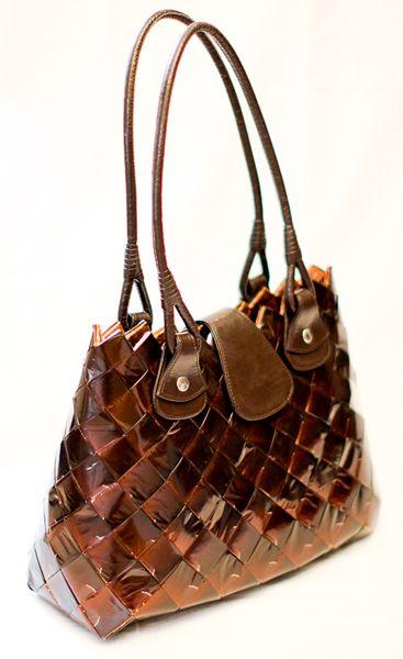 Kara Designer Tote Bag | Jack's Rack | Designer Candy Wrapper Handbags For You & Designer Pet Accesories