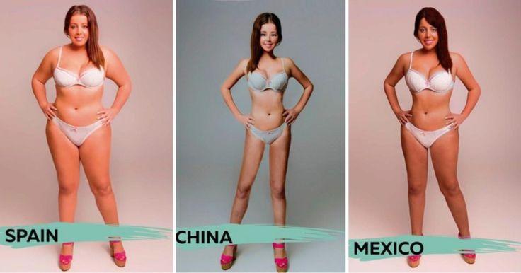 """Los estádares de la belleza de las mujeres varia según cada país. Es lo por lo que el sitio medico británico """"Online Doctor"""" pidió a distintos diseñadores de estos países que realizaran según la fotografía original que se les dio, la perspectiva de su país para ver mas atractiva a sus mujeres. Desde el color del piel, distintos tipos de cabello, el tamaño de los senos, variantes de peso, o el tamaño de las caderas son los distintos rasgos que verán a continuación..."""
