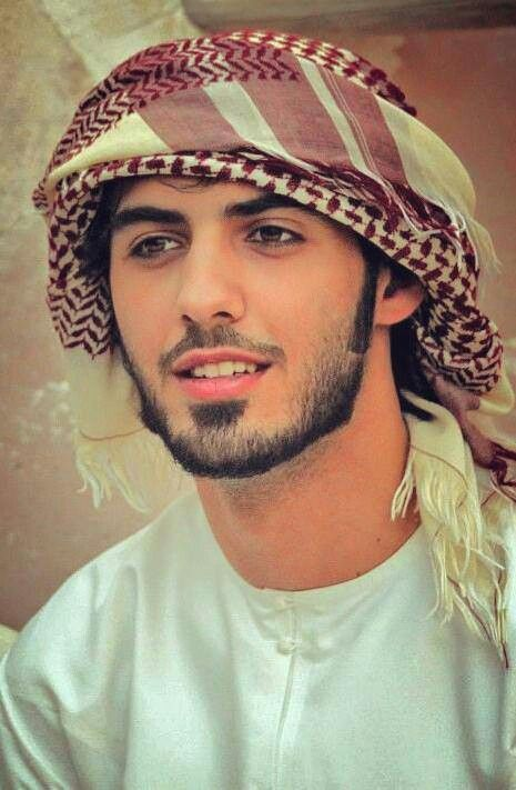This man was deported from Saudia Arabia for being too handsome. Omar Borkan Al Gala.