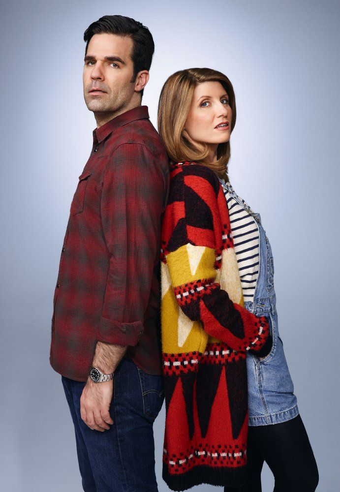 "Rob Delaney & Sharon Horgan. They are nominated for the award for Outstanding Writing for a Comedy Series for the episode ""Episode 1"" of Catastrophe."