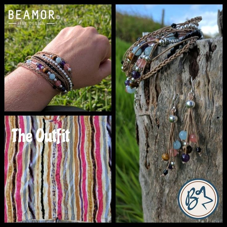 The Breif, design boho style jewellery to match the outfit. Ta da..... #customjewelry #bohostyle #gemstonejewelry #etsystore #beamorfinedesign #findamaker