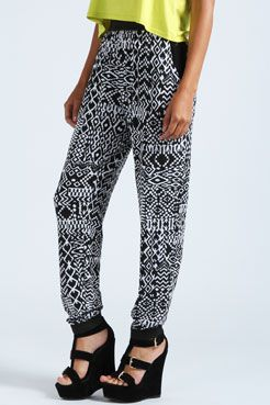 Jane Monoscope Printed Hareem Trousers