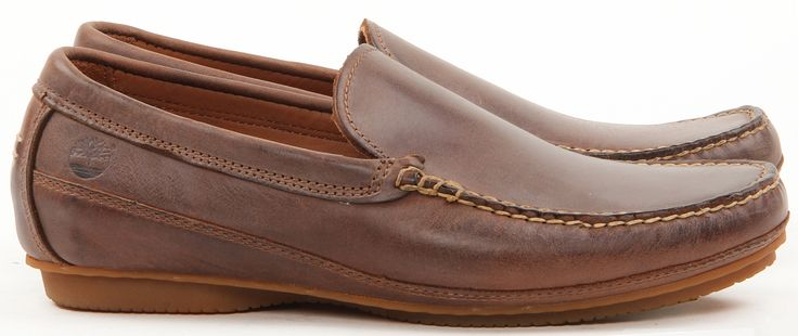 MENS-TIMBERLAND-LEATHER-CASUAL-SLIP-ON-LACE-BOAT-DRVING-LOAFERS-BROWN-SHOES-SIZE