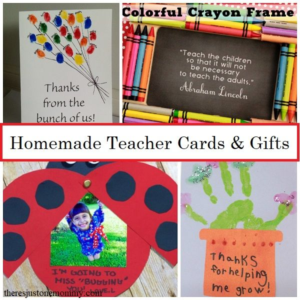 Homemade Teacher Cards Gifts Teacher Cards Homemade Teacher
