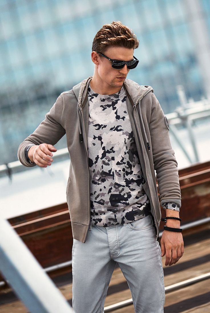 Are you working for the weekend? Go crazy for camo this season! #sportwear #Strellson #fashion #streetstyle #menswear #style #camo