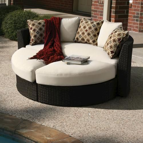Milano birds eye day lounger a perfect way to lounge for Better homes and gardens englewood heights chaise lounge