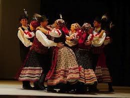 Hungarian dance folk