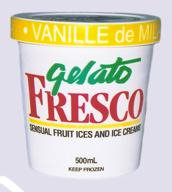"""Real Vanilla. Fresh milk and Cream. No artificial flavors. """" Blows Haagen Dazs out of the water without really trying"""" Joanne Kates. Globe and Mail"""