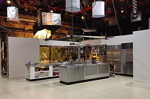 It Might Be A Mock Up Of Nigella 39 S Kitchen In A Tv Studio