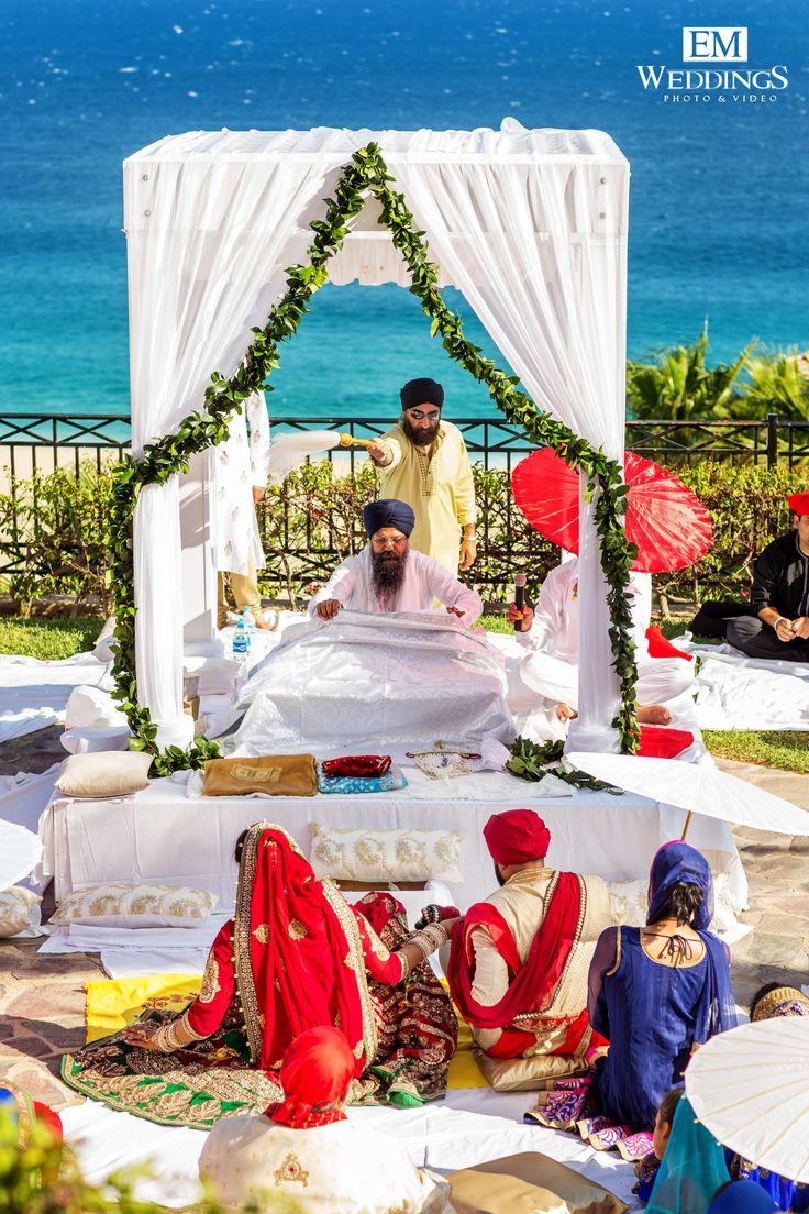 Hindu Wedding at Hotel Pueblo Bonito Sunset Beach,Los Cabos, México.  #emweddingsphotography #destinationweddings