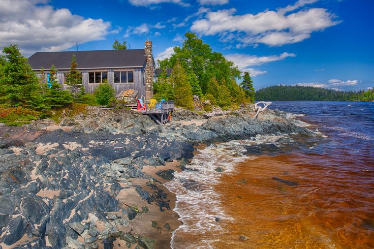 The Rock Island Lodge is a perfect place to start and end your Slate Island Experience.