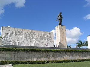 Che's memorial in Santa Clara, Cuba