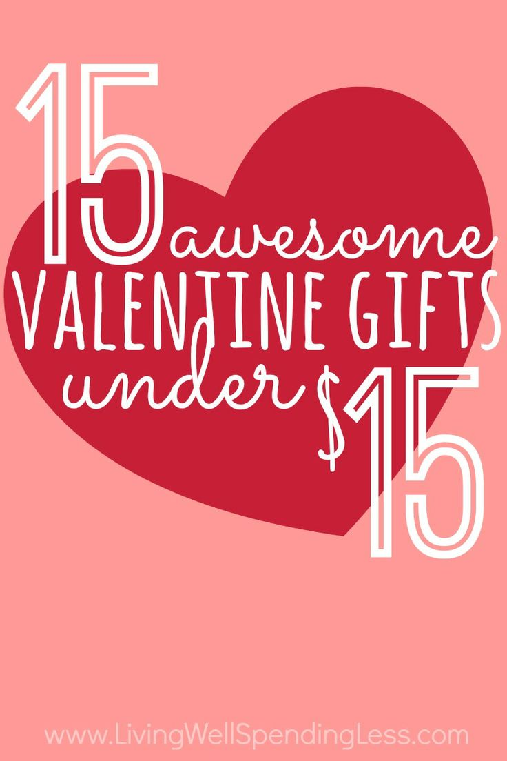 15 Awesome Valentine's Gifts Under $15