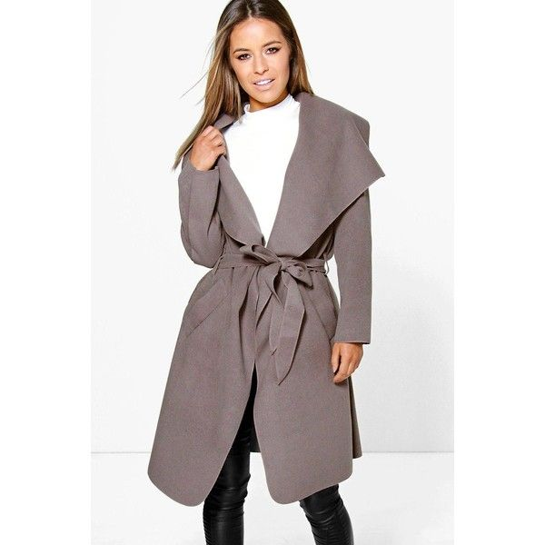 Petite Wrap Coat   Down Coat