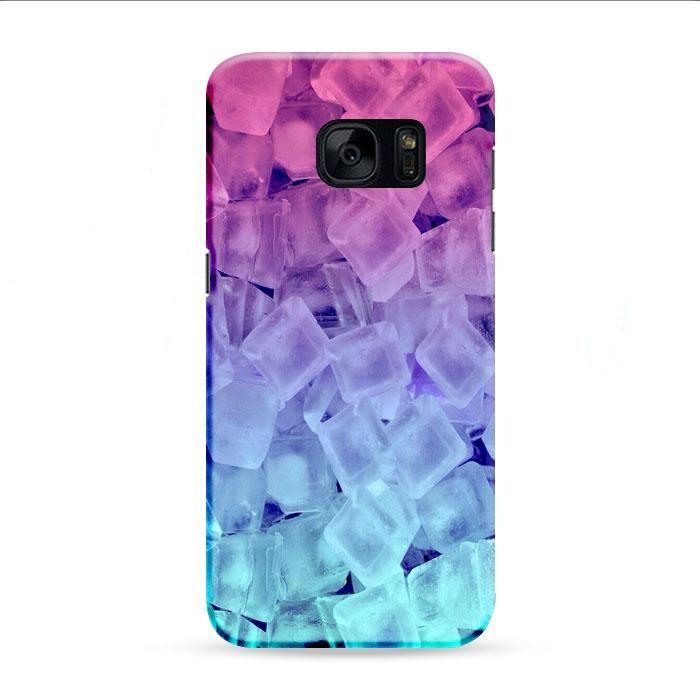 Rainbow Cake Ice Samsung Galaxy S7 Edge 3D Case