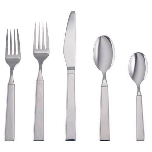 Amefa 16 Piece 4 Person Cutlery Set Eclat Metallics Metals Gold Copper Silver