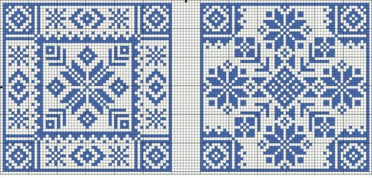 Lapas - Rokdarbu grāmatas un dažādas shēmas - Galerija - Rūtiņu raksti…