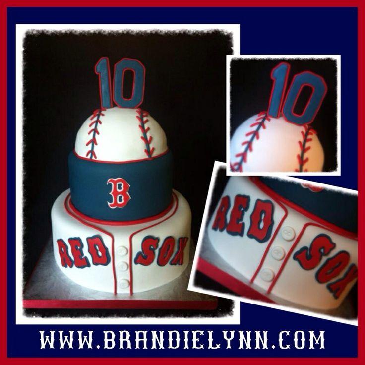 Best 25+ Red Sox Cake Ideas On Pinterest