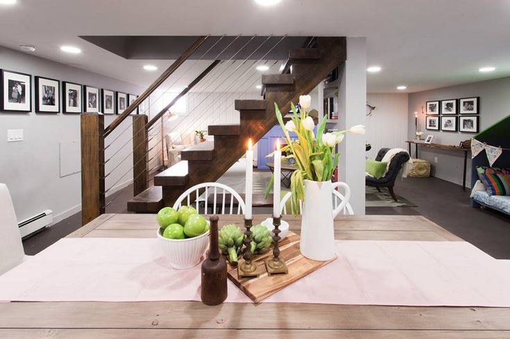 Best 25 open basement stairs ideas on pinterest for Basement floor plans with stairs in middle