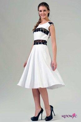 Длинное летнее платье с кружевом