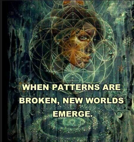 Old habits, repeated patterns, relationships that add no vitality, spiritual or life enrichment.. Old things are passed away and ALL THINGS are becoming fresh and new everyday!!!