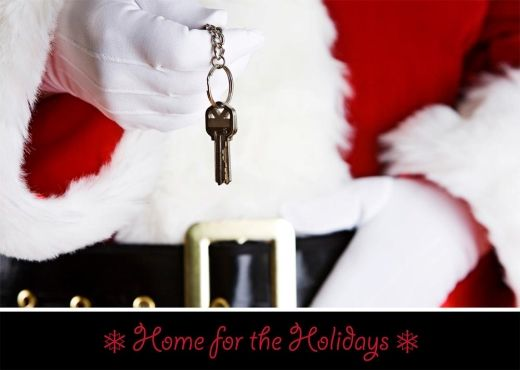 43 best profession specific holiday images on pinterest greeting new home keys realtor card m4hsunfo