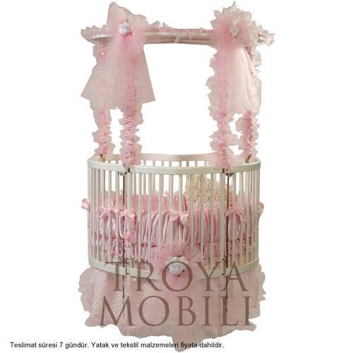 Kız Bebek Beşiği Modelleri www.masifmobilya.com.tr/urunler/bebek-besikleri