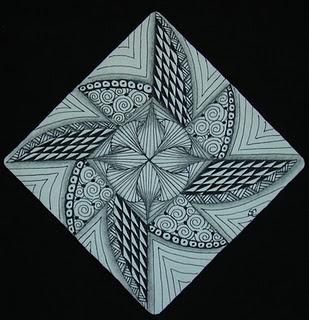 pinwheel: Ink Art, Zentangles Drawings, Zentangles Doodles, Zen Tangles, Zentangle Doodle, Tangled Ink, Doodles Drawing, Doodle Art