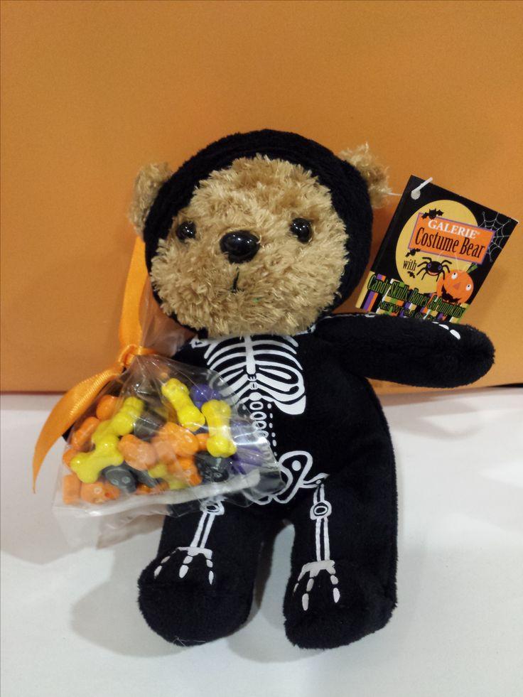Halloween Skeleton Bear