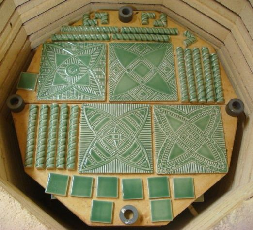 """For the next month or so, I will be creating tile for my own home. I'm going to be making a door surround for my front door - a 12""""-14"""" border that will wrap both sides and the top of the door. I w..."""