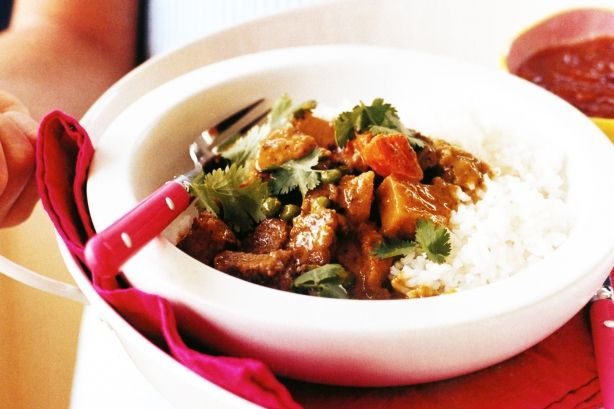 Quick lamb curry main image