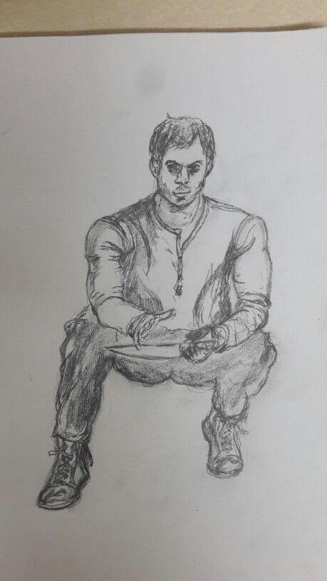 Dexter sketch #WW #Sketch