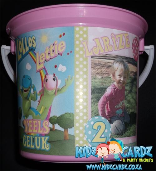 Lollos en Lettie Party Bucket