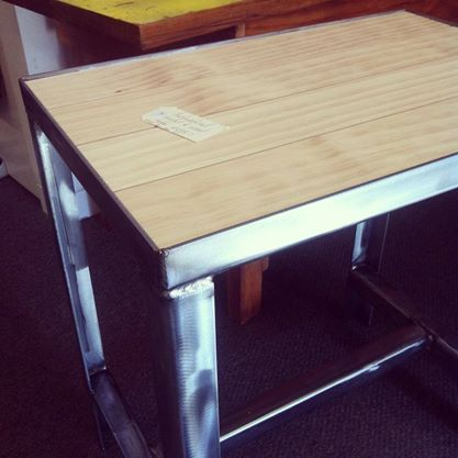 Wood and metal tables - The General Store