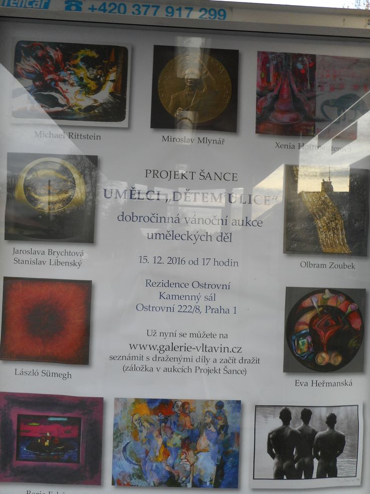 """Projekt """"Umělci dětem z ulice""""."""